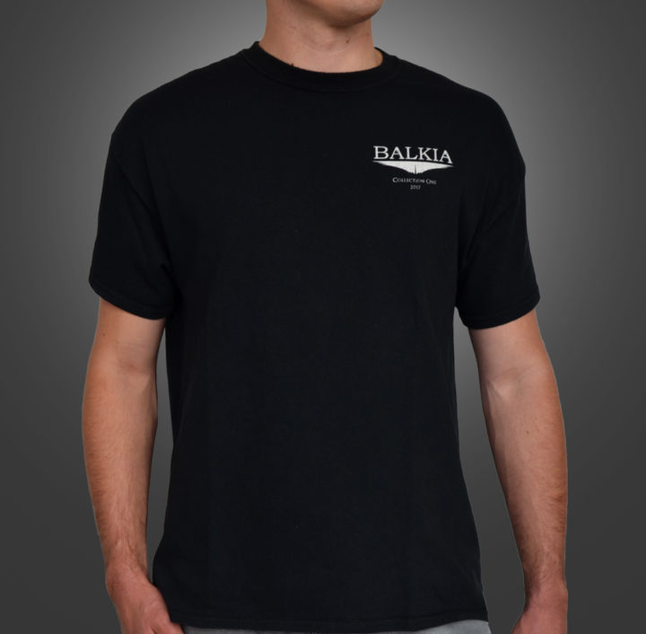 Balkia - chest logo T-shirt